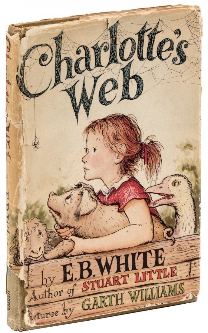 Charlotte's Web First Edition in dust jacket
