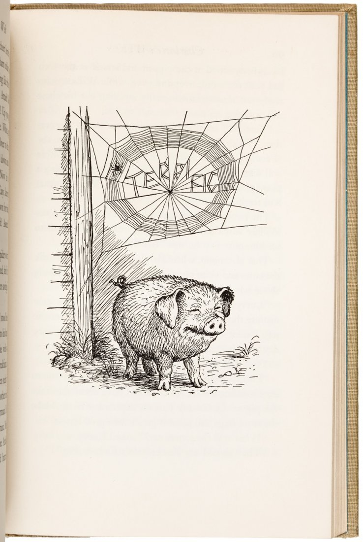 Charlotte's Web First Edition in dust jacket - 3