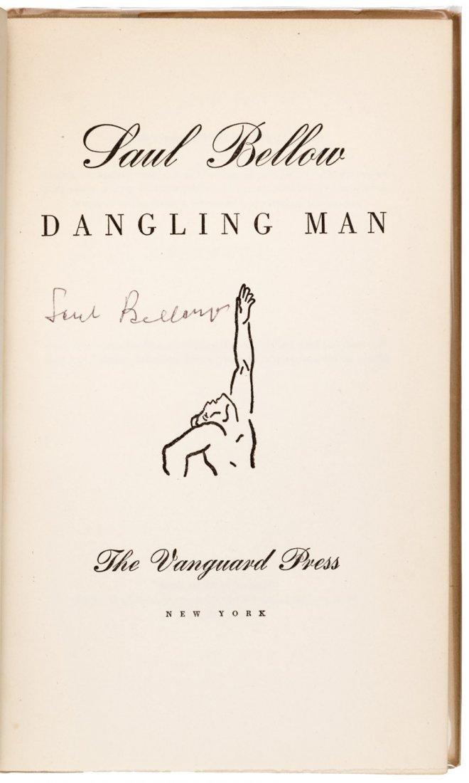 Saul Bellow Dangling Man First Edition First Book