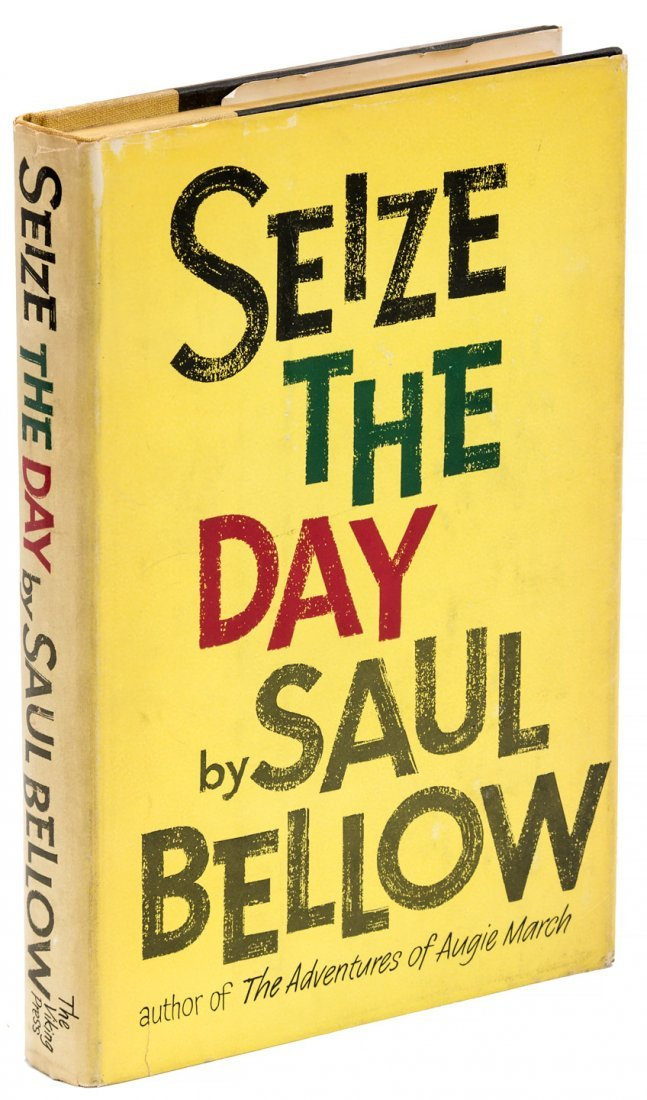 Saul Bellow Seize the Day First Edtion