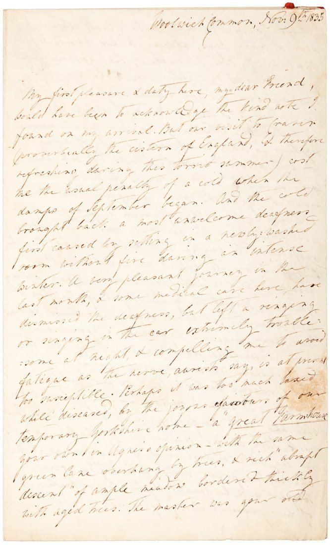 1835 Poet Anne Vardill Niven to novelist Mary Russell