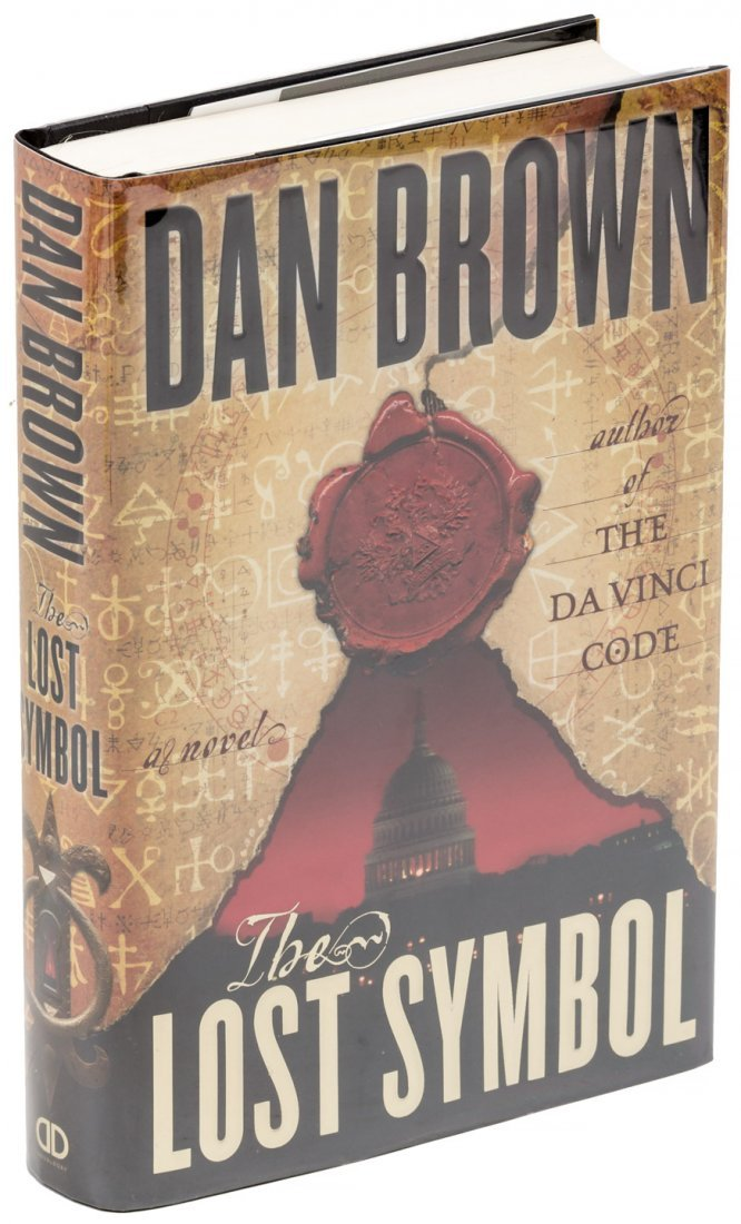Dan Brown the Lost Symbol First Edition