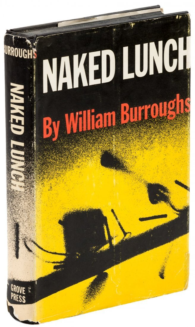 Naked Lunch 1st ed in dj by Wm S. Burroughs