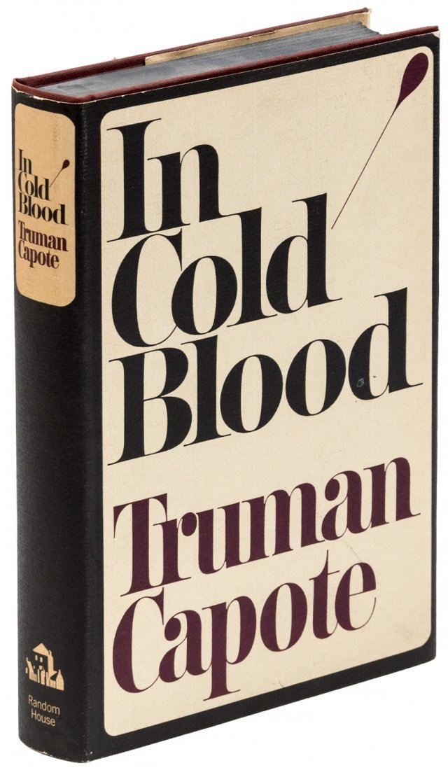 In Cold Blood 1st Trade Edition in dust jacket