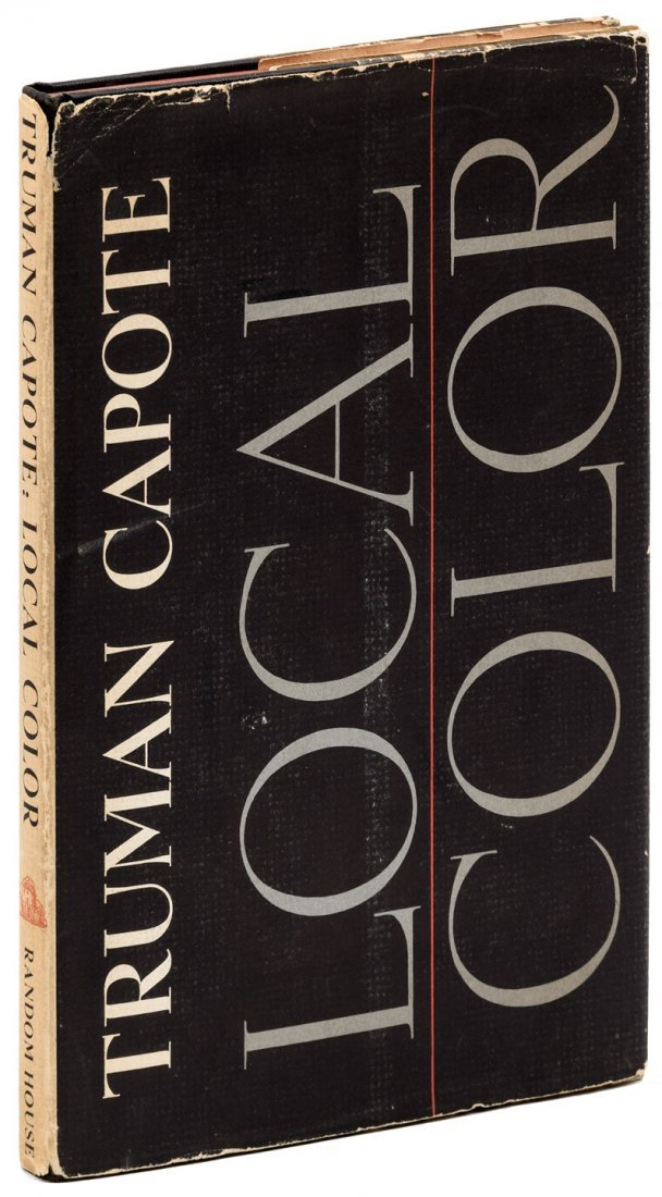 Local Color signed by Truman Capote