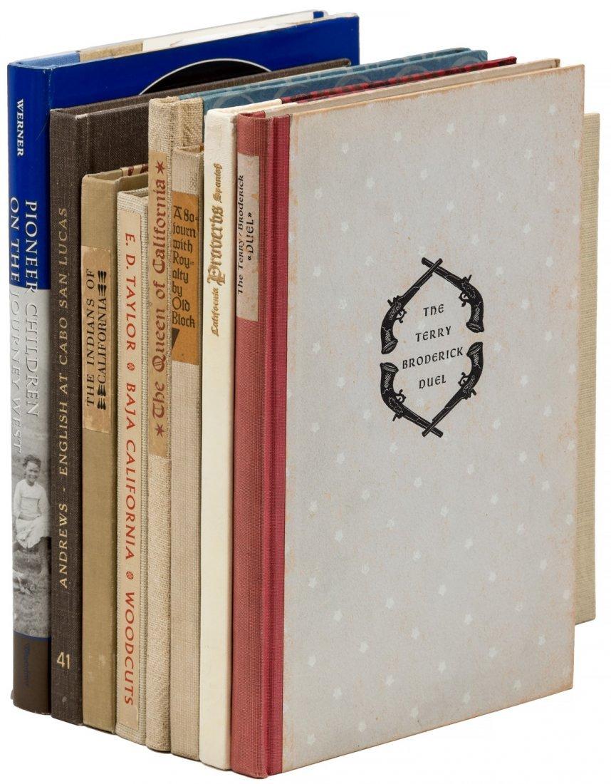 Americana, The Book Club of California, The Colt Press