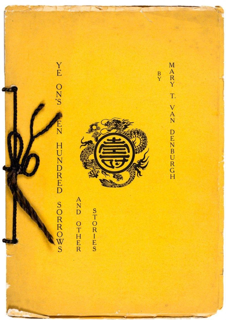 1907 Scarce San Francisco Chinatown fiction