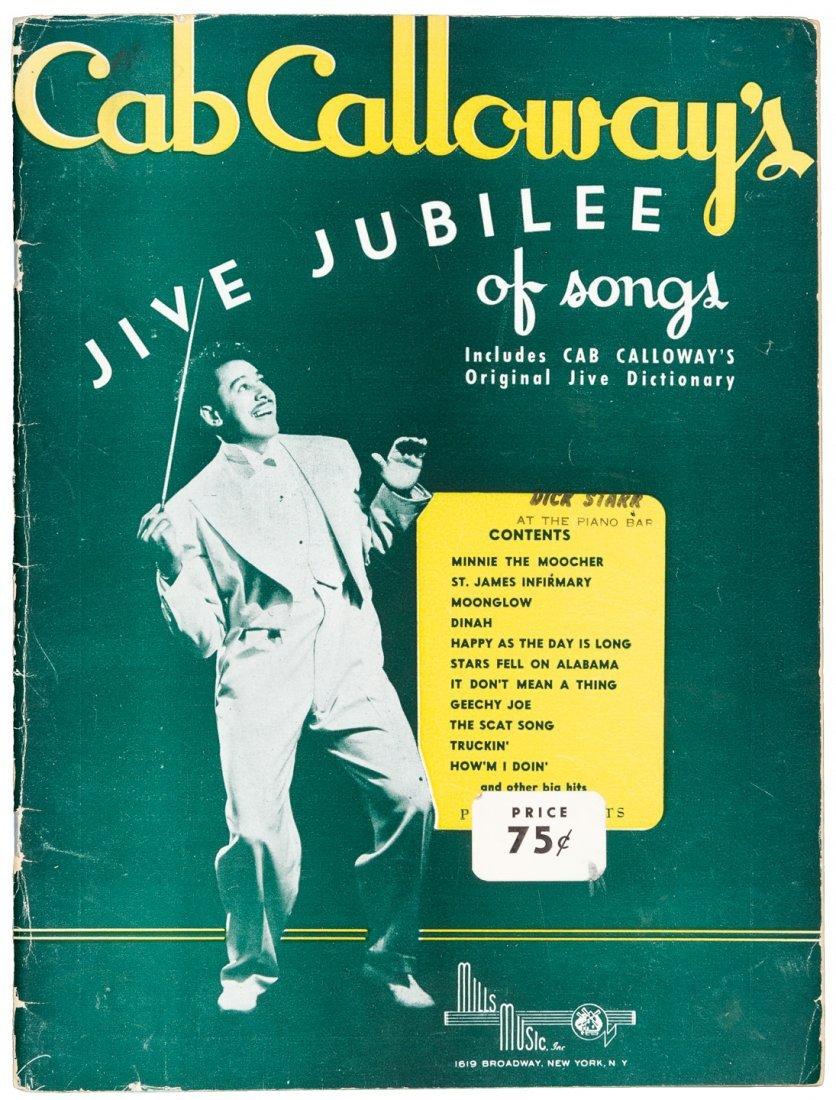 1942 Cab Calloway's 'Jive Dictionary'