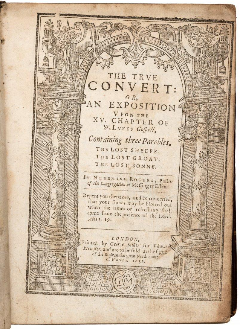 Nehemiah Rogers the True Convert 1632