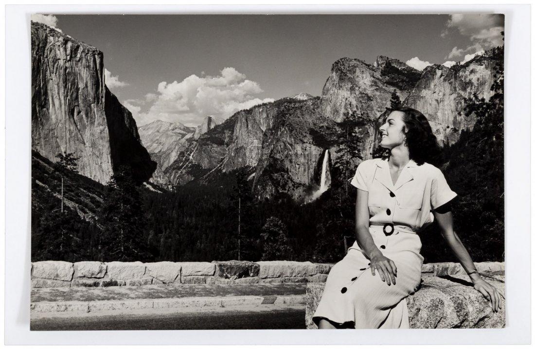 Ansel Adams image of Inspiration Point Yosemite