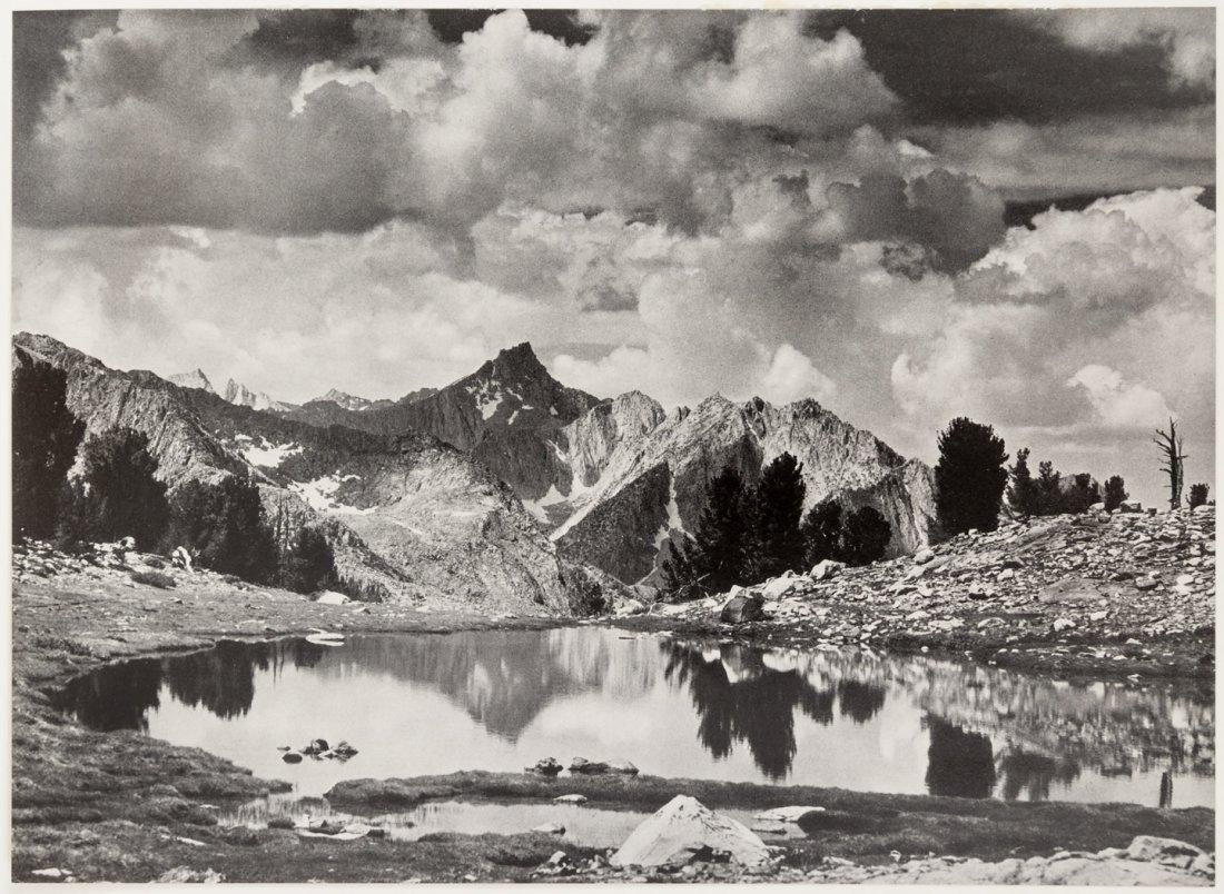 Sierra Nevada The John Muir Trail by Ansel Adams