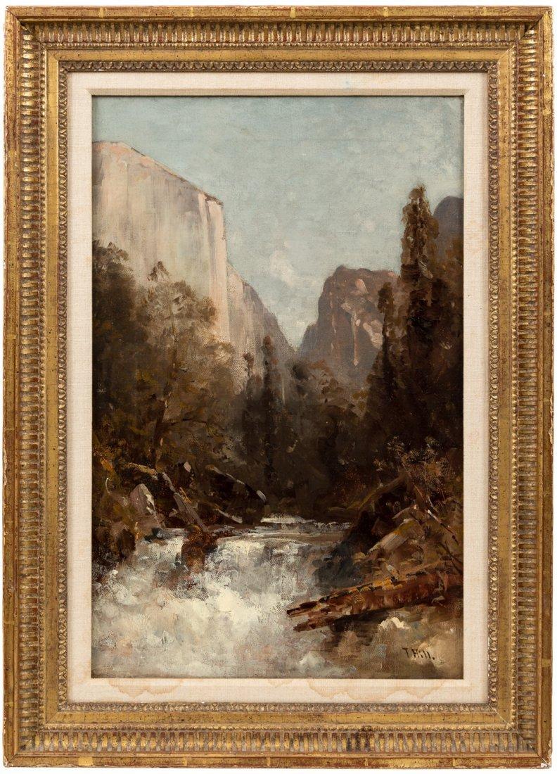 Thomas Hill painting of Merced River, Yosemite