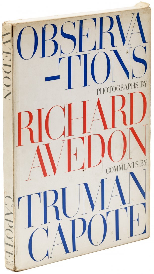 Observations, photos & comment Avedon & Capote