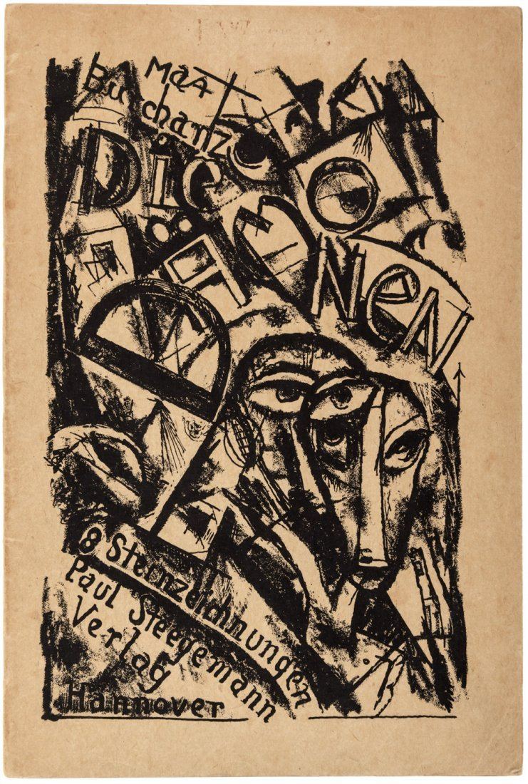 Post-WWI German abstract lithographs