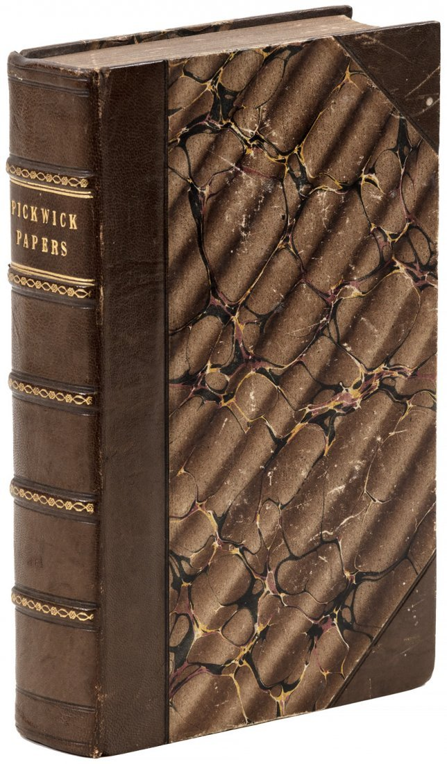 Charles Dickens Pickwick Papers First Edition