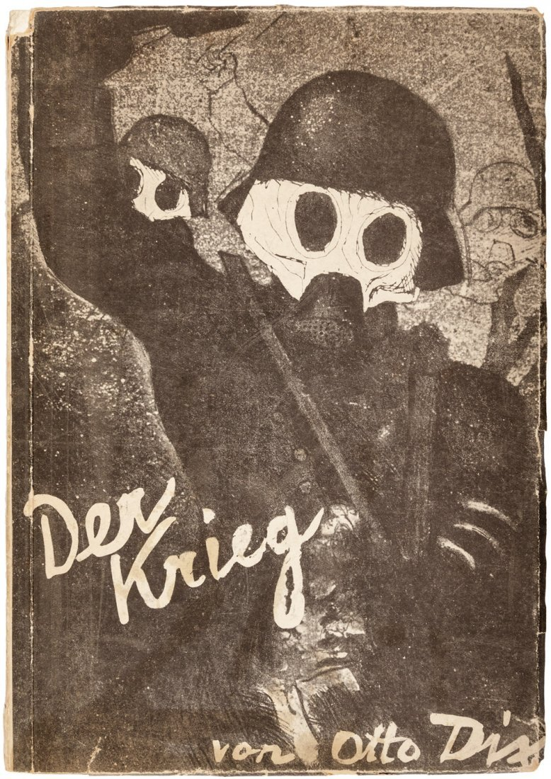 Dix depicts WWI in German trenches