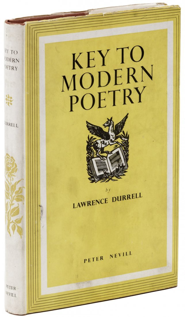 Inscribed by Durrell to William Targ