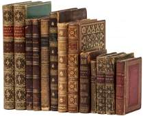 Collection of 19th century leather bindings