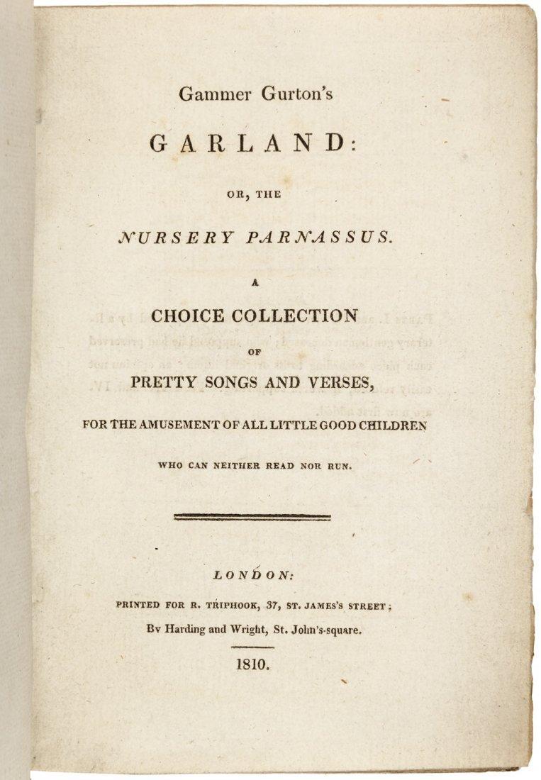 Gammer Gurton's Garland early nursery rhymes