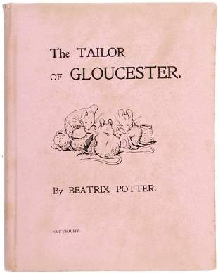 Beatrix Potter The Tailor of Gloucester 1st Edition