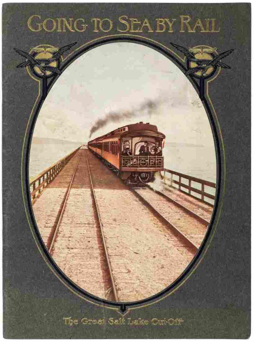 View book of Great Salt Lake Utah 1907
