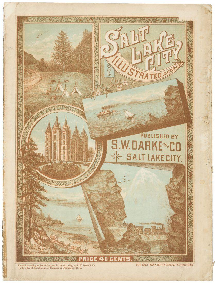 Tourist guide to Salt Lake City, with lavish