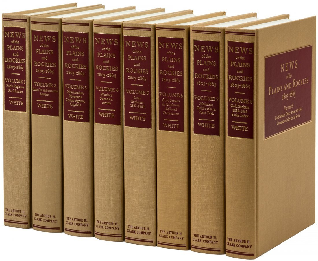 News of the Plains and Rockies, 8 volumes