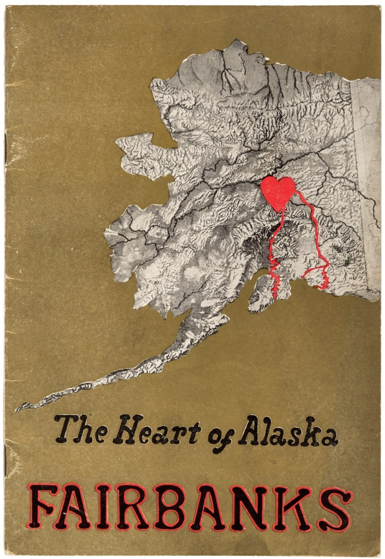 Scarce promotional for Fairbanks Alaska
