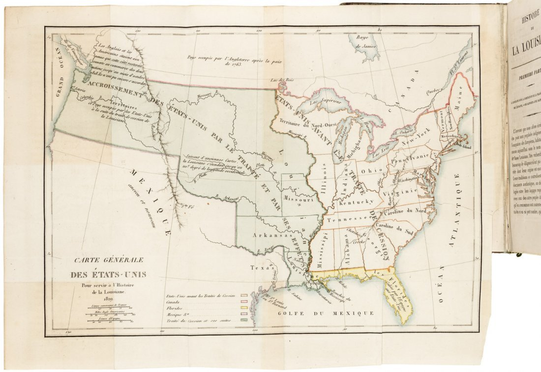 History of the Louisiana Territory 1829