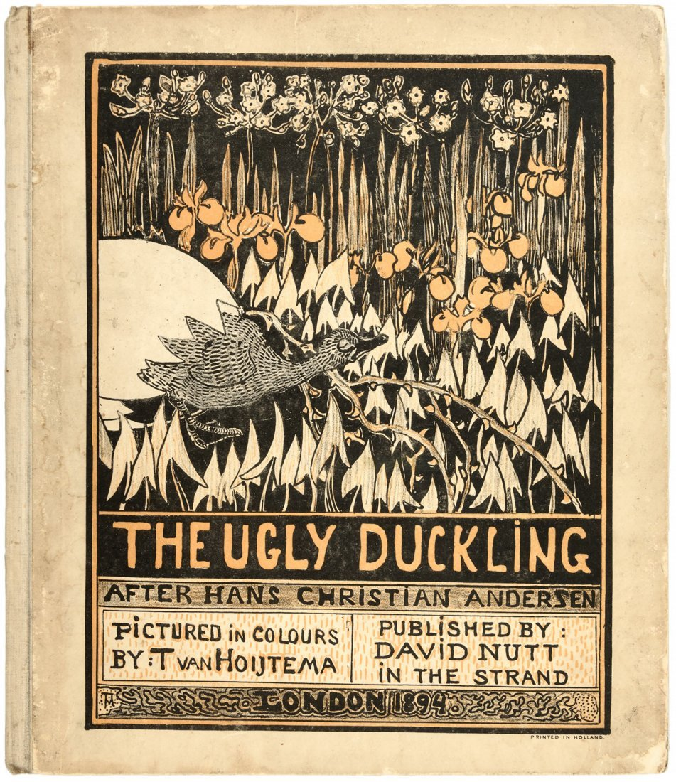 The Ugly Duckling with Hoytema Illustrations.