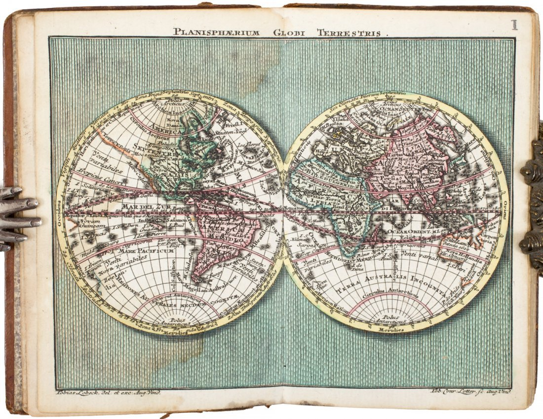 Atlas Geographicus Partatilis XXIX Mappis