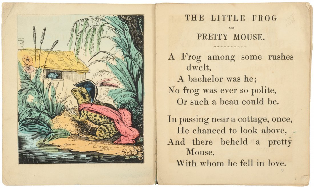 Aunt Affables Story About the Little Frog & Pretty