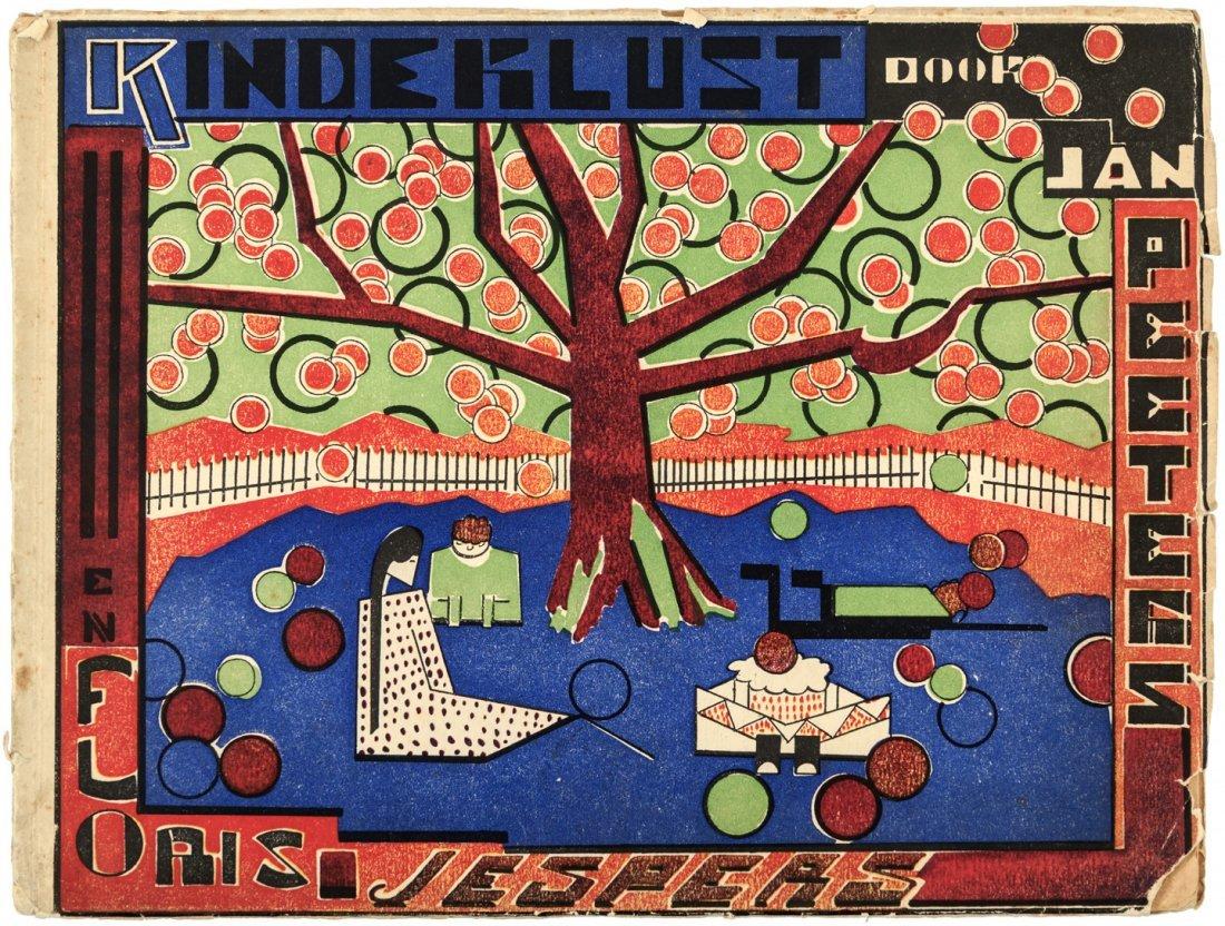 Jan Peeters Kinderlust Floris Jespers illustrations