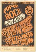 Andy Warhol at the Fillmore 1966