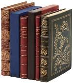 Four finely bound works