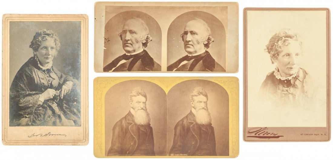 Photos of abolitionists