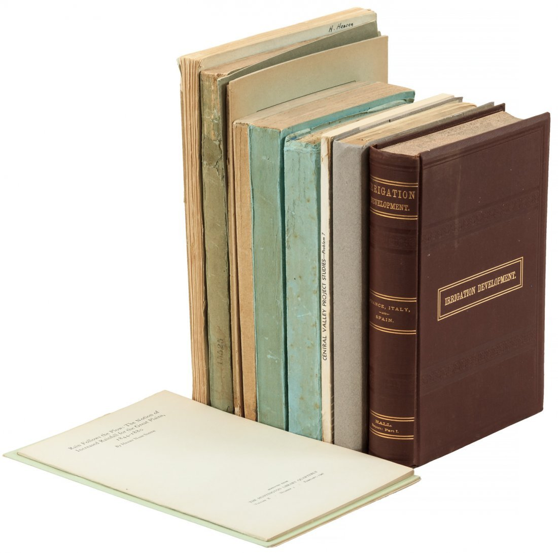 California: Irrigation Resources. 17 vols.