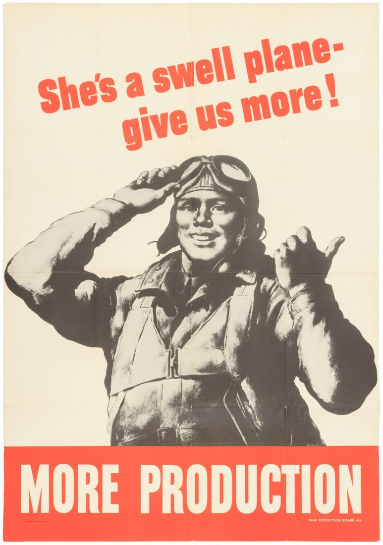 Poster featuring Tuskegee Airman