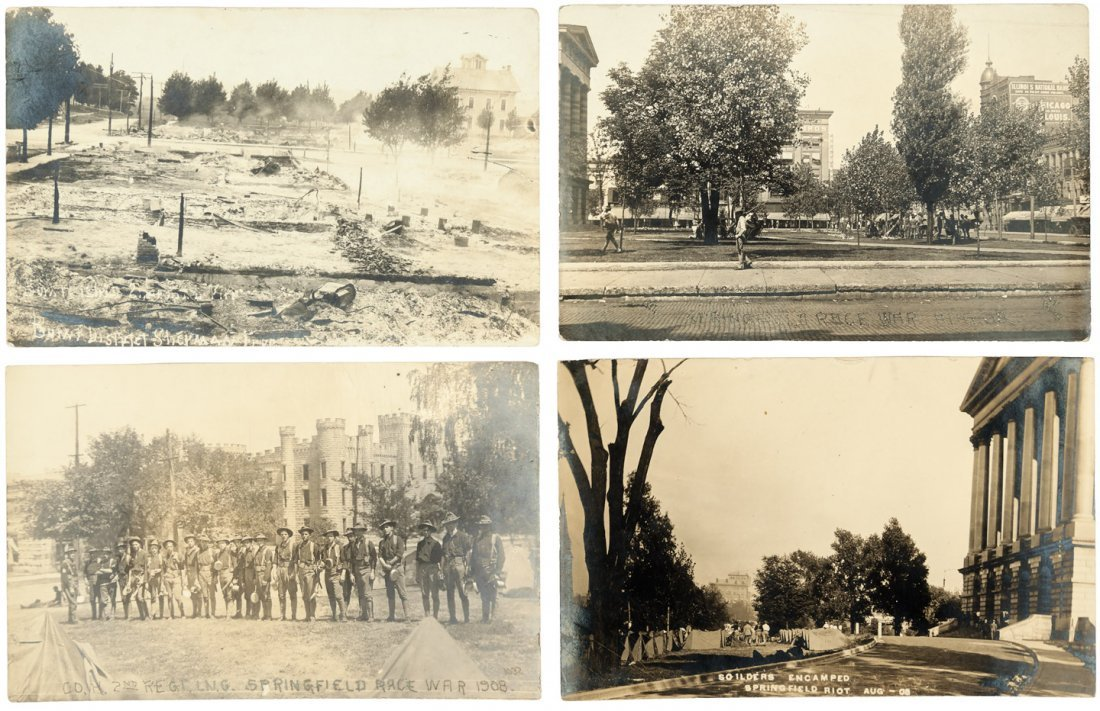 Race Riot in Springfield Illinois 1908