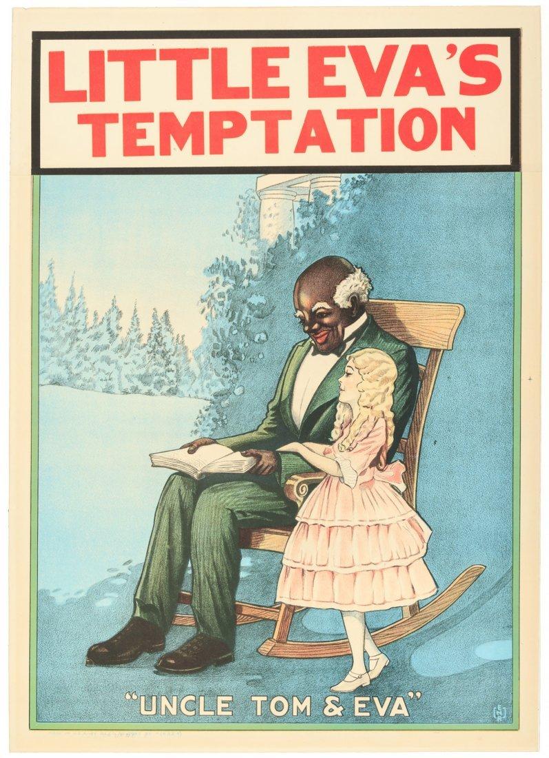 Little Eva's Temptation - poster for Uncle Tom's Cabin