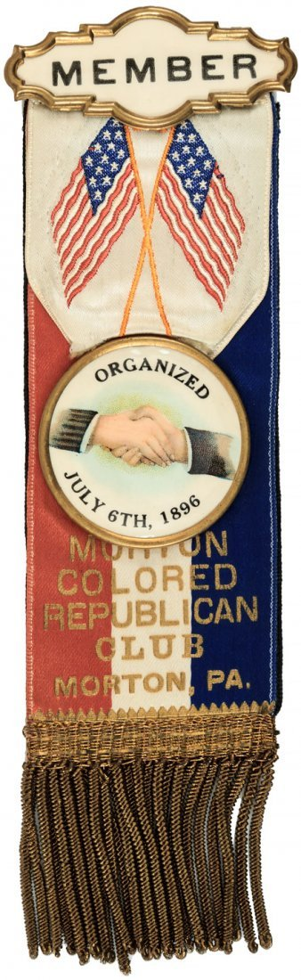 Black Republican membership ribbon