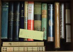 Shelf lot 14 volumes California