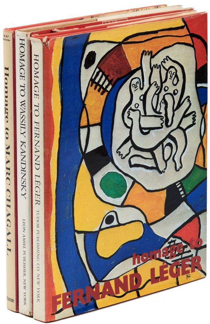 Chagall, Kandinsky, Léger, Homage