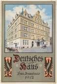 German social hall in San Francisco