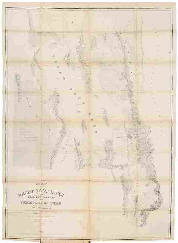 Stansbury's Report on the Salt Lake with maps