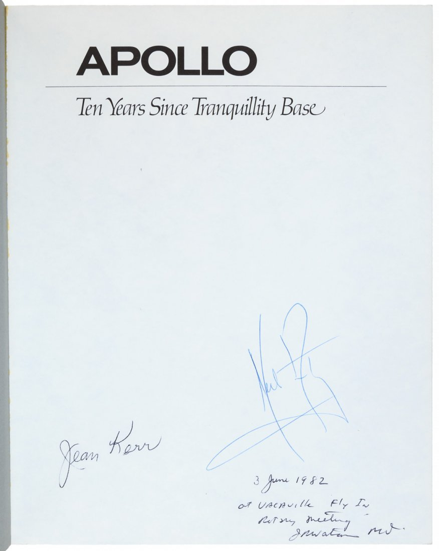 Ten Years Since Tranquility Base signed by Neil