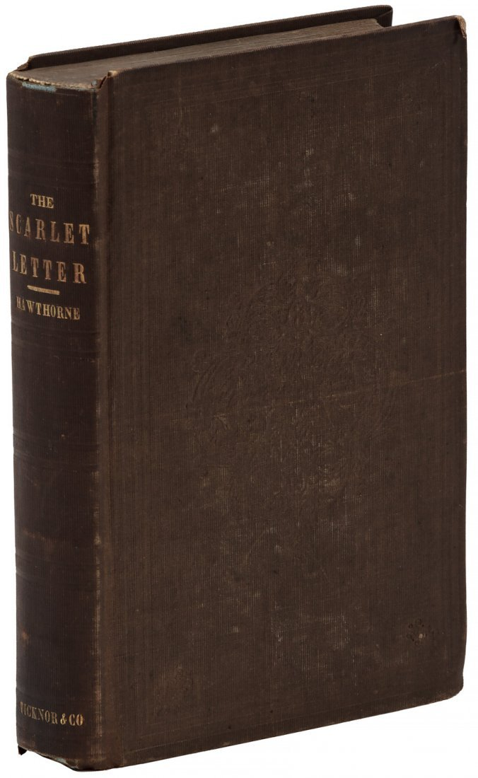Hawthorne's Scarlet Letter First Edition - 3