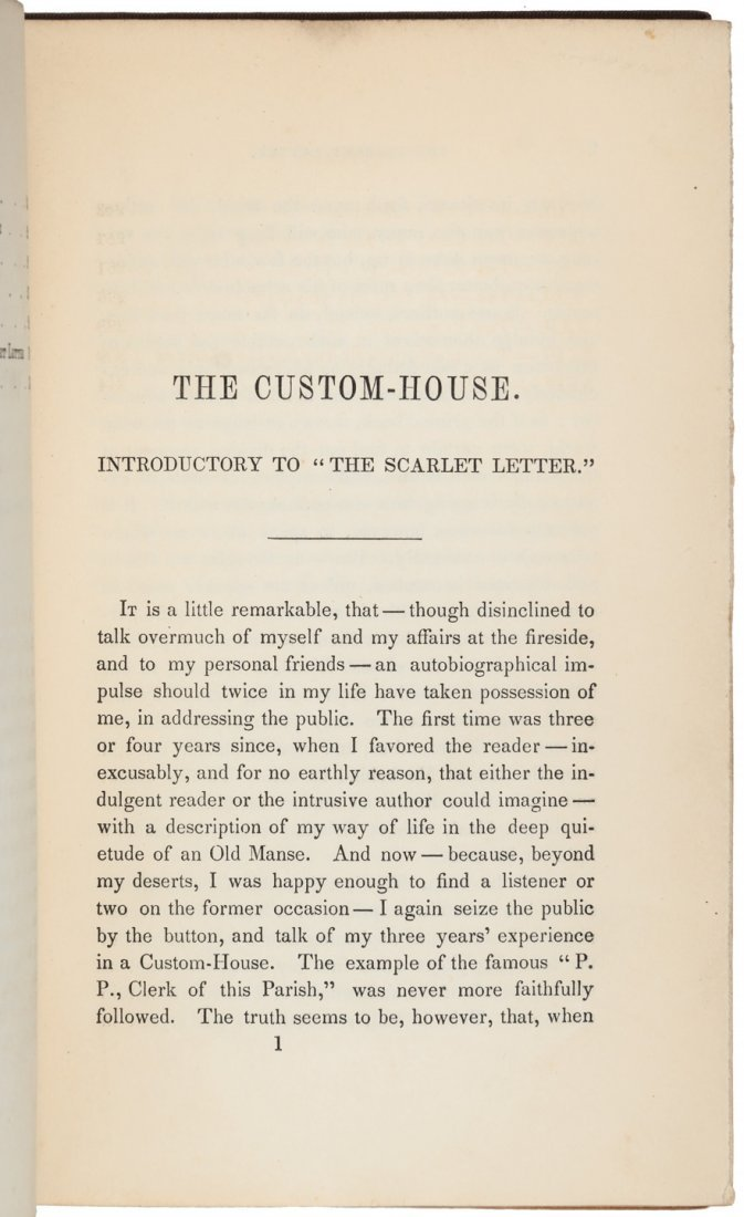 Hawthorne's Scarlet Letter First Edition - 4