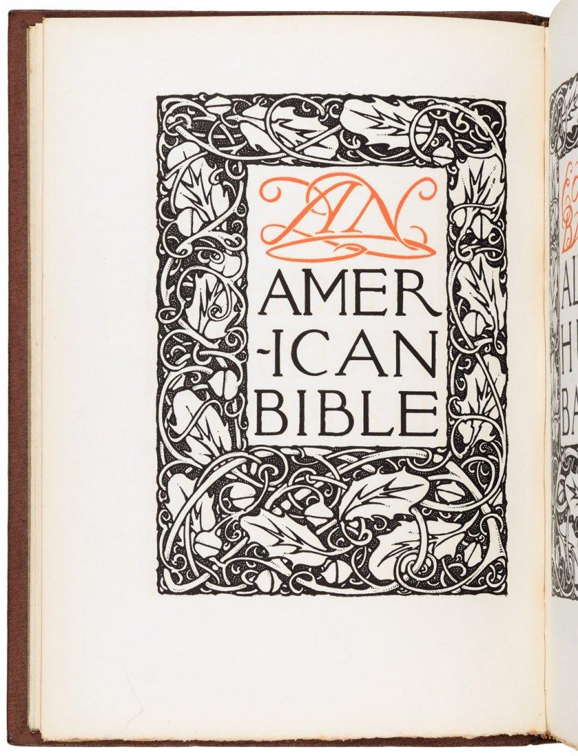 An American Bible - Alice and Elbert Hubbard
