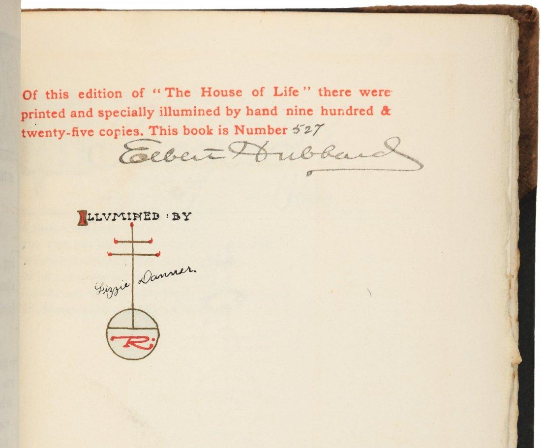 The House of Life - Rossetti - Roycroft Printing - 2